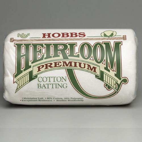 Heirloom® Premium 80/20 Cotton Blend - Crib size
